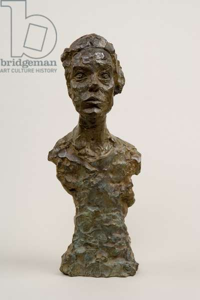 Bust of Annette IX, 1964 (bronze)