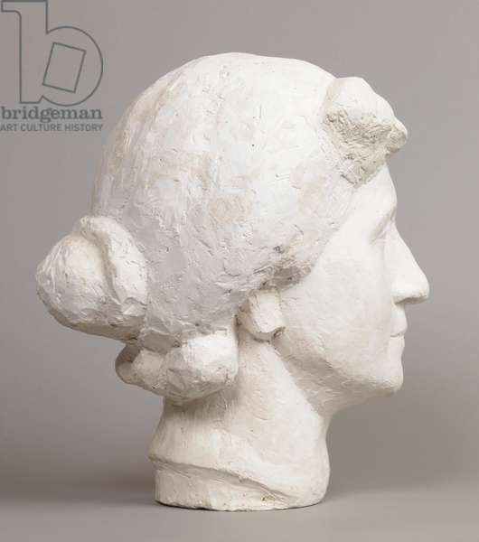 Head [Large Head of Mother] (plaster)