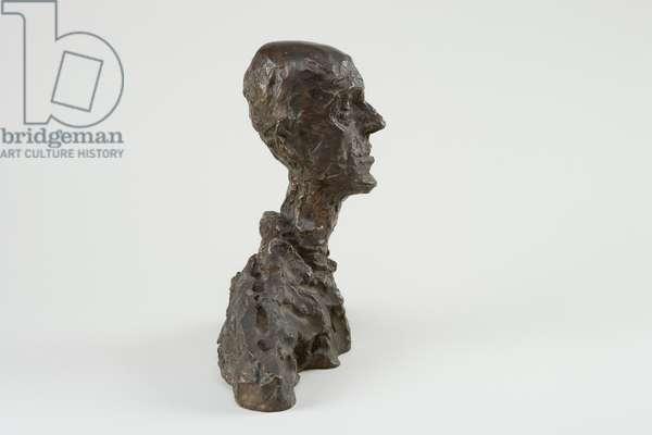 Head of a Man (Lotar I), 1964 (bronze)