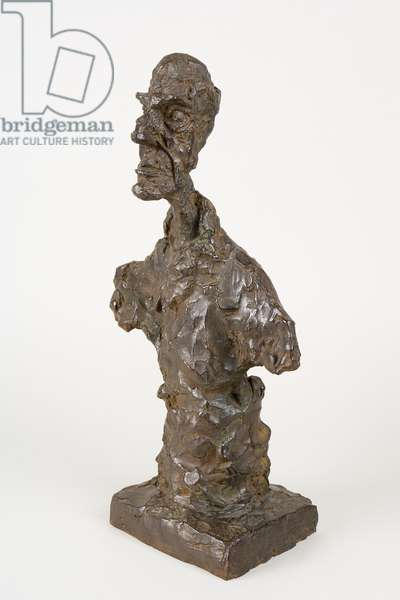 Bust of a Man, or Chiavenna II, 1964 (bronze)