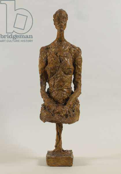 Tall Woman Seated, 1958 (plaster)