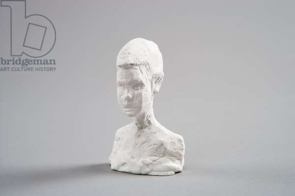 Small Bust of Silvio, c.1944-45 (plaster reworked with pocket-knife) (see also 861058)
