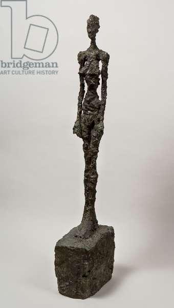 Standing Woman, 1957 (bronze)