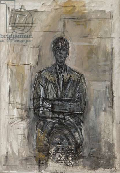 Sir Robert Sainsbury, 1958 (oil on canvas)