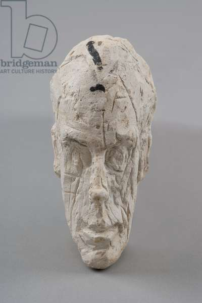 [Head of a Man], c.1953 (plaster)