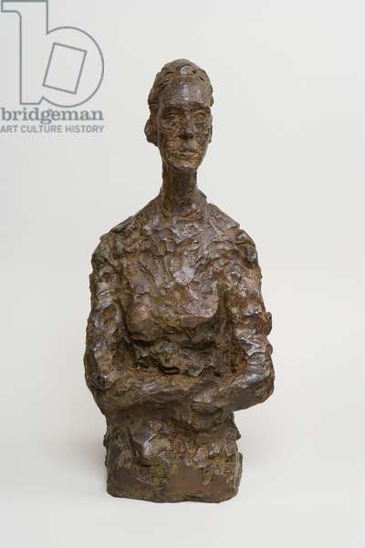 Bust of Paola, 1959 (bronze)