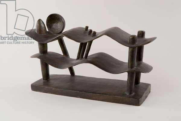 Reclining Woman who Dreams, 1929 (bronze)