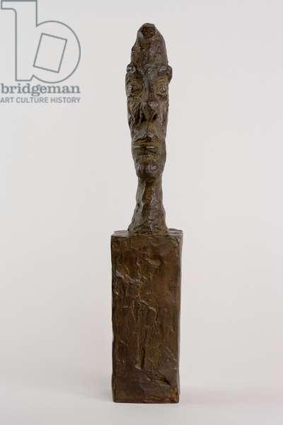 Head on Base [aka Head without Skull], c.1958 (bronze)