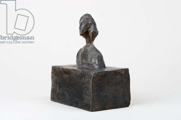 Small Bust of Annette, c.1946 (bronze)