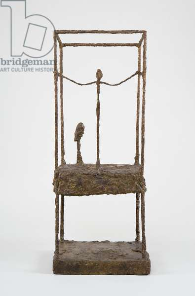 The Cage, first version, c.1949-50 (bronze)