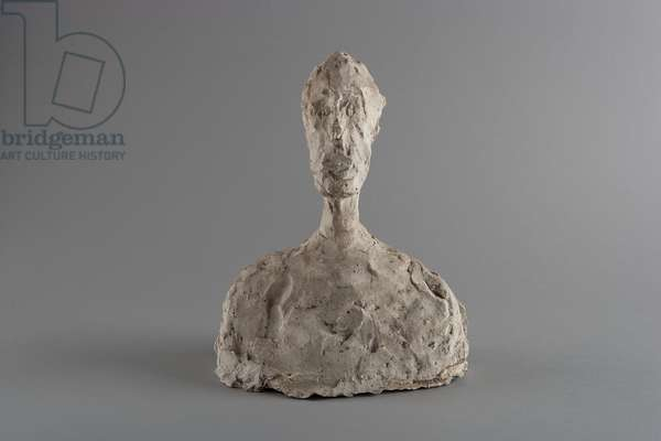 Bust of a Man, c.1958 (plaster)