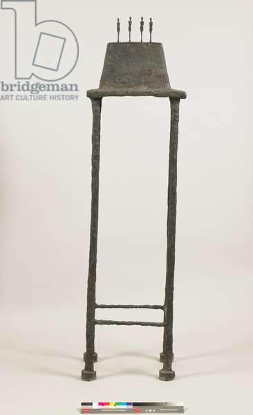 Four Figurines on a Stand [London Figurines, model B], 1950 and 1965 (bronze)