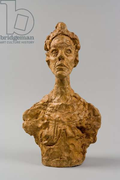 Bust of Annette [Venice], 1962 (plaster)