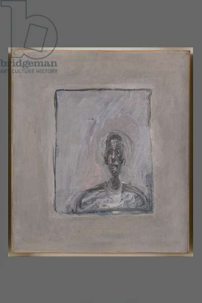 Bust of a man, c.1951 (oil on canvas)