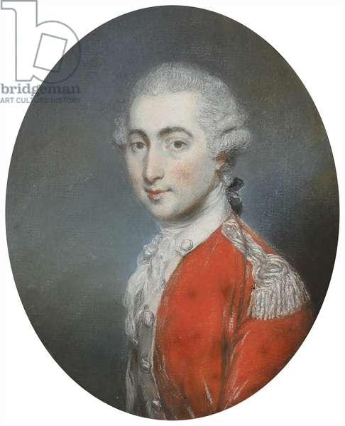 Lorenzo Moore, before 1800 (graphite & pastel on paper)