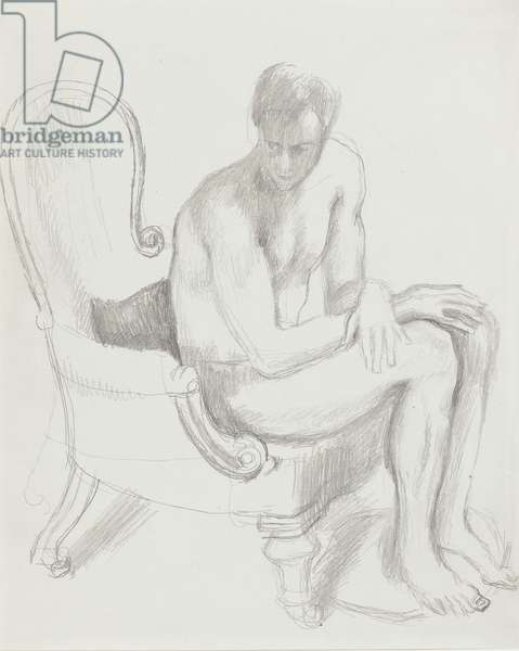 Ralph Partridge, 1921 (pencil on paper)