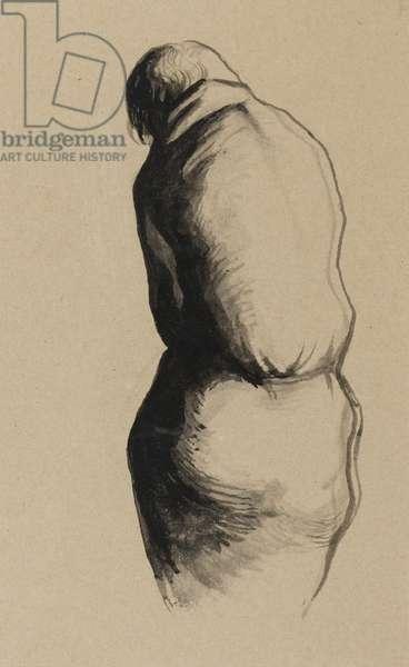 Marquis de Sade (brush & ink on paper)