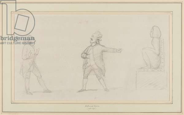 An Antiquarian, c.1790 (pencil on paper)