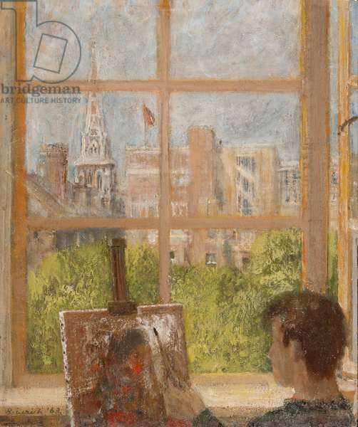 Camberwell, 1963 (oil on card)