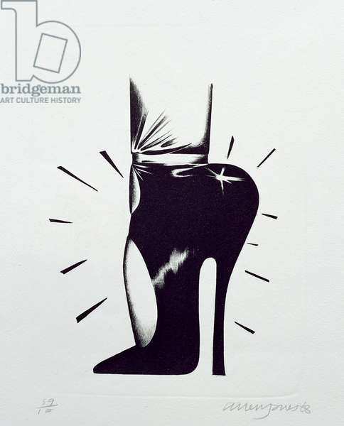 Shoe, from the series 'Shoe Box', 1968 (litho)