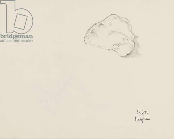 Study: flint (pencil on paper)