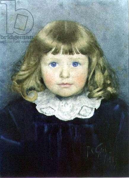 Annie, 1889 (w/c on paper)