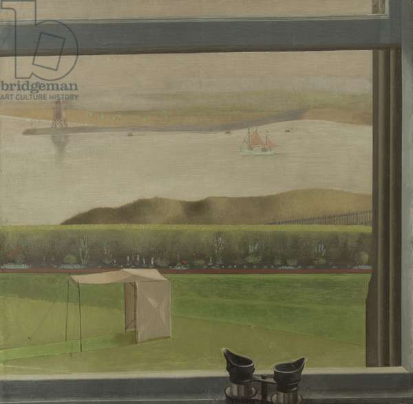 Summer, c.1943 (tempera on gesso on panel)