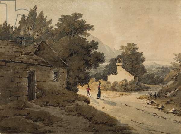 Bassenthwaite, Lake District (w/c on paper)
