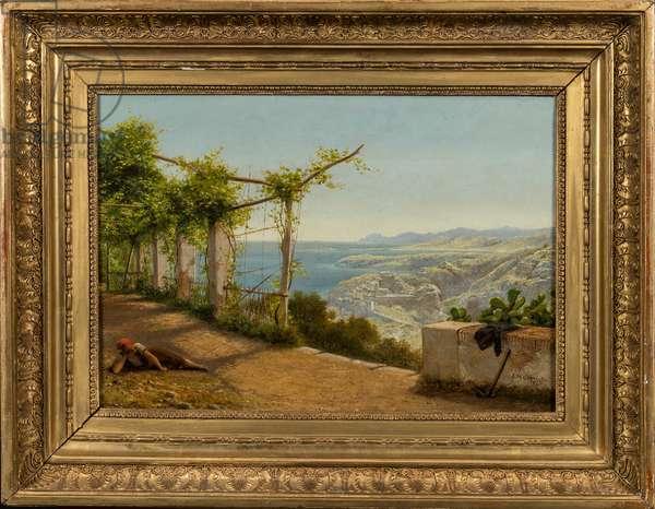 Near Nice, 1872 (oil on canvas)