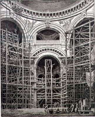 The Preservation of St. Paul's Cathedral (etching)