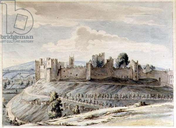 Ludlow Castle, 1783 (w/c on paper)