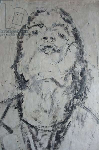 Woman, 2012 (oil on paper)