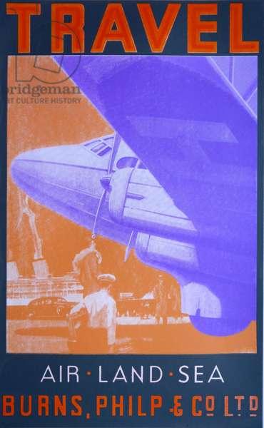 Travel: Air, Land Sea (Orange)