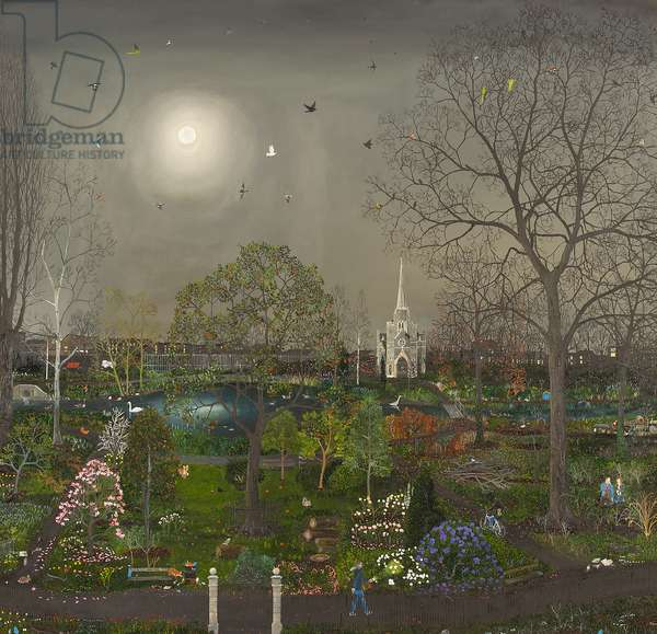 Garden in the East, 2014 (oil on linen)