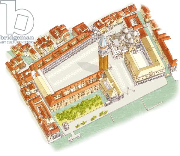 Piazza San Marco. Venice, Italy