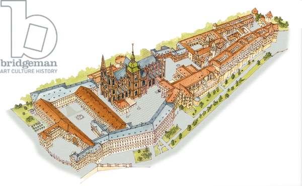 Prague Castle. Prague, Czech Republic