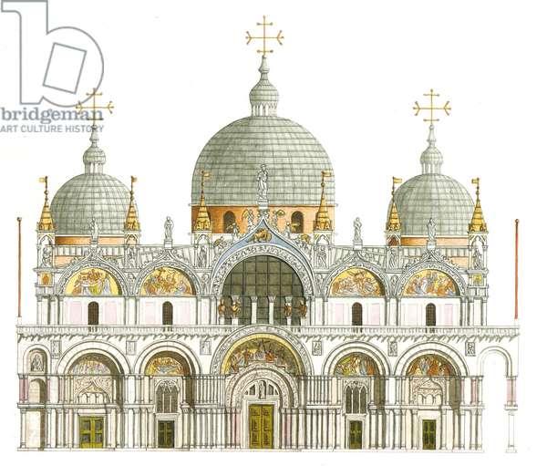 St. Mark's Basilica. Venice, Italy