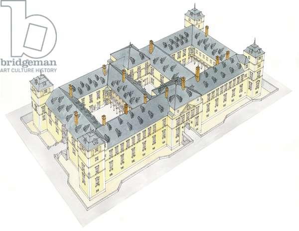 Royal Palace of El Pardo. Madrid, Spain