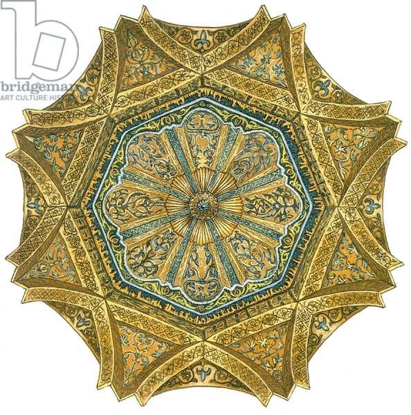 Mosque of Cordoba, Spain. Mihrab cupola