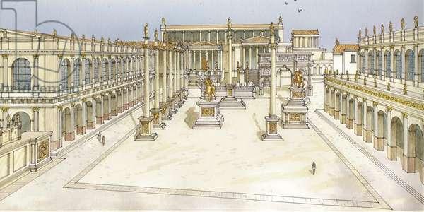 Imperial Forum. Rome
