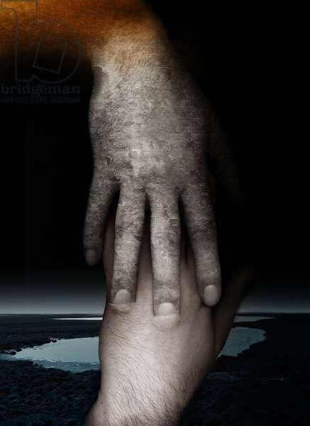 Helping hand, 2013, (Photo manipulation)
