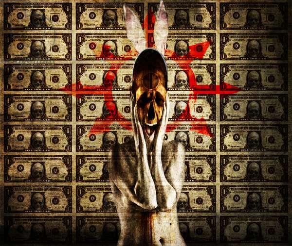 money,2013,(Photo manipulation)