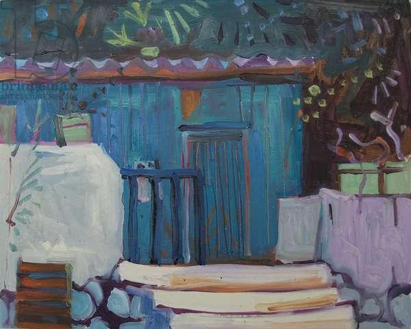 Blue Hut Loutro
