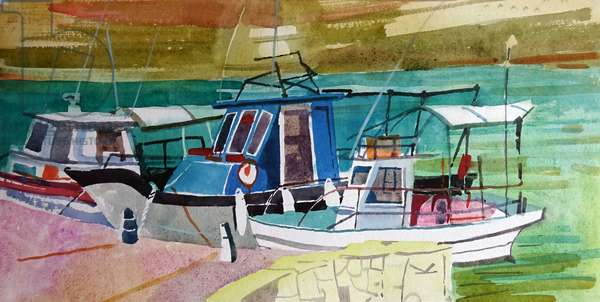 Fishing Boats Agios Georgios