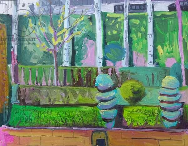 Formal gardens Priego