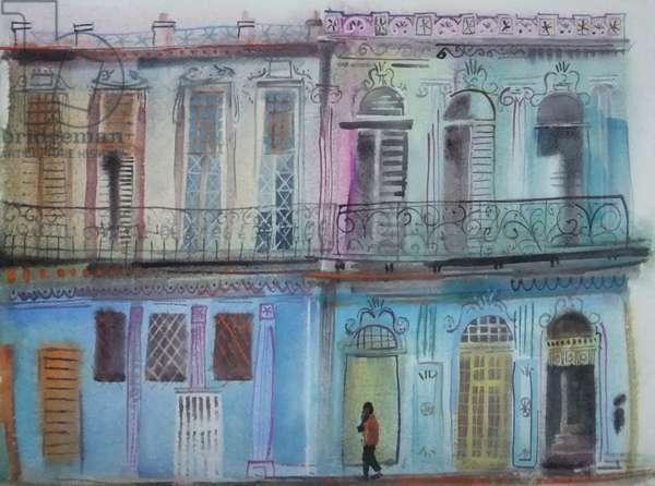 Morning Stroll Havana