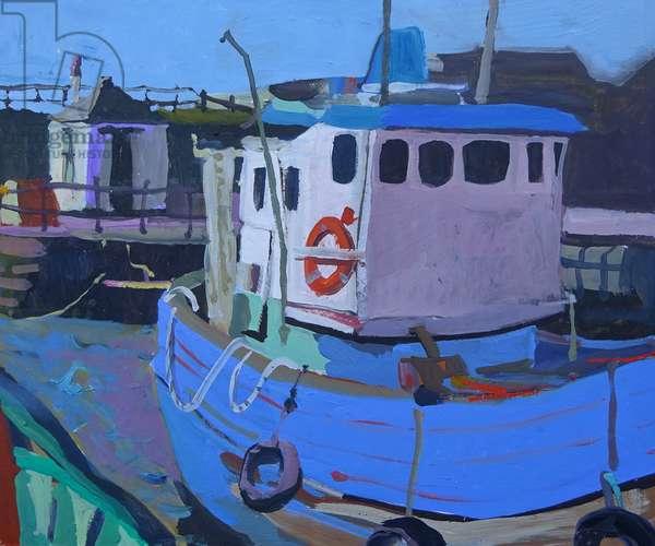 Boats and net Hut Maryport
