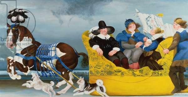 The Paternity Bonnet, 1992 (oil on canvas)
