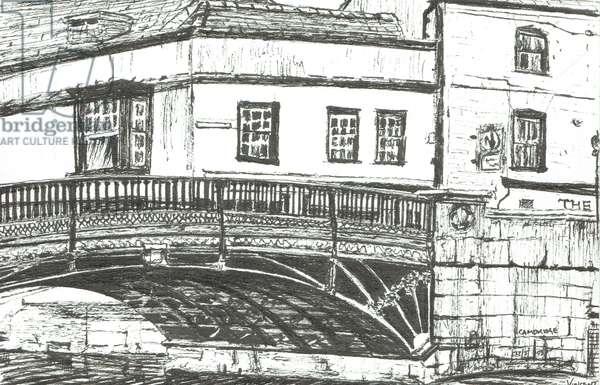 Cambridge, 2008, (ink on paper)