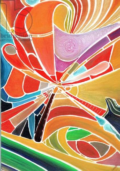 Alliduquotalion, 2016, (oil on canvas board)